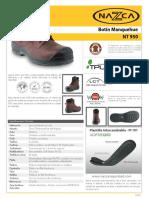 zapato seguridad  f