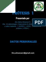 Protesis I Removible Segunda Clase Para Enviar