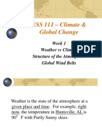 ESS 111 – Climate & Global Change
