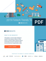 CB Insights Fintech Trends 2019