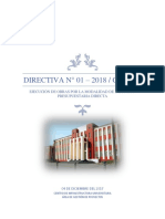 Directiva Administracion Directa
