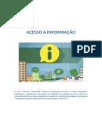 Módulo I - Direito de Acesso à Informação No Brasil