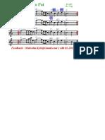 Mestre Irineu O Cruzeiro Cifra + partitura (English & Portugues) pdf