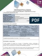 Syllabus Del Curso Cálculo Diferencial (Lic. en Matemáticas)