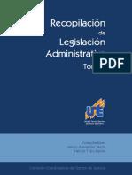 Recopilacion de Leyes Administrativas Tomo I