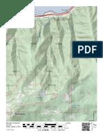 Warren Creek map