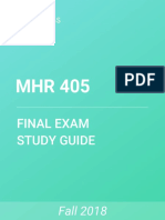 MHR 405 Study Guide - Comprehensive Final Exam Guide - Emotional Intelligence, The View (Talk Show), Social Identity Theory