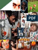 Collage de adicciones