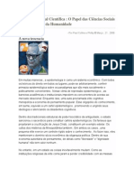 A Ditadura Social Científica