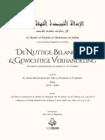 De Nuttige Belangrijke en Gewichtige Verhandeling (NL-AR) - Ibn Abd Al-Wahhab
