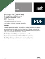 DFSL Dec 07 - Questions