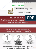 Conferencia Frida Diaz Barriga Arceo
