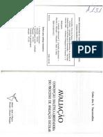 Avaliação Concepção Dialética-libertadora Do Processo de Avaliação Escolar