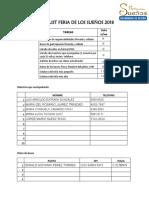 Checklist Organizaciones