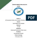 Tarea II Historia Del Pensamiento Politico y Social Junior
