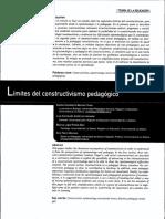Límites del constructivismo pedagógico.pdf