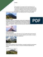 Lagos, Rios, Volcanes, Montañas de Guatemala