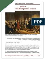 Capitulo-4 La Formacion de Un Gobierno Nacional