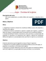 Presentación Eclesiologia