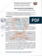RESOLUCION DE ALCALDIA N° 015-2019-MDSAA-A