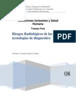 Riesgos Radiológicos de Las Nuevas Tecnologías de Diagnostico