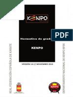 Normativa de Grados Kenpo