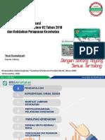 Permenkeu 141-02-2018 Koordinasi Antar Penyelenggara Jaminan Pelkes