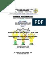 1. PIAGAM JADI Juara Umum Akademis Des Thn 2018