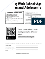 working with school-age children and adolescents - outline