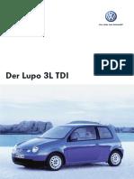 Katalog Lupo 3L Modell 2005