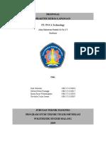 Proposal PKL PT. POCA
