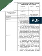 1. SPO Konsultasi Dr via Tlp