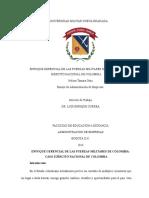 1. Enfoque Gerencial de Las Fuerzas Militares de Colombia
