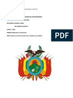 La Historia de Bolivia Esta Marcada Por Un País Semi