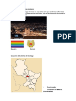 Distrito de Santiago Informe