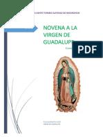 Novena a La Virgen de Guadalupe v.3