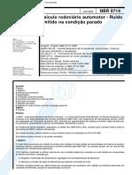 Nor NBR-9714 - Veiculo Rodoviario Automotor - Ruido Emitido Na Condicao Parado[1] (1).pdf
