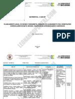 Planejamento Anal Matemática - 9 Ano - EF - Prof. Leonardo Portal