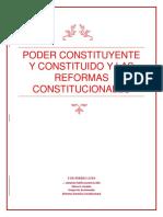 Poder Constituyente y Constituido y Las Reformas Constitucionales