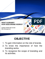 Presentation - Brand and Branding