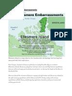 The Ellesmere Embarrassments