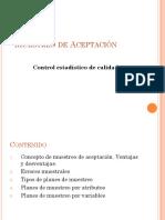 MUESTREO DE ACEPTACIÓN Control Estadistico de Calidad.pdf