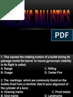 Ballistics Edit
