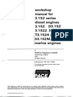 Perkins 3152 Engine Manual