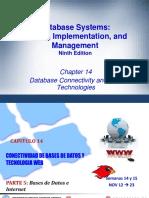 Conectividad de Bases de Datos y Tecnologias Web