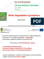Course 4 Photodegradation