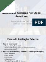 Métodos de Avaliação No Futebol Americano