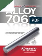 Kaiser Aluminum Alloy 7068 Brochure