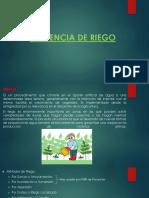 EFICIENCIA DE RIEGO
