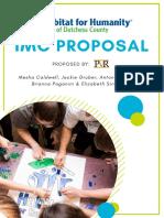 Habitat for Humanity IMC Proposal